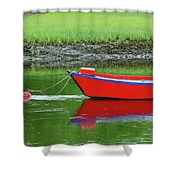 Harwich Rowboat Shower Curtain