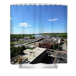 Hastings, Minnesota Shower Curtain