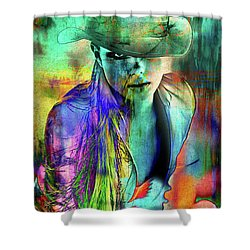 Hat Sexy Shower Curtain