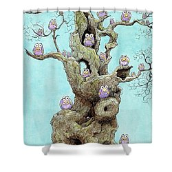 Hatchlings Shower Curtain