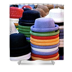 Hats, Aix En Provence Shower Curtain