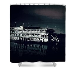 Haunted Dinner Cruise On The Columbia River  Shower Curtain by Lisa Kaiser