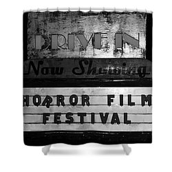 Haunted Drive In Shower Curtain