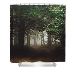 Haunted Forest #2 Shower Curtain