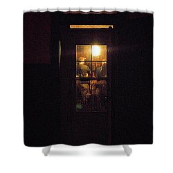 Haunted House 4 Shower Curtain by William Horden