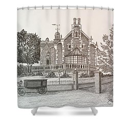 Haunted Mansion  Shower Curtain