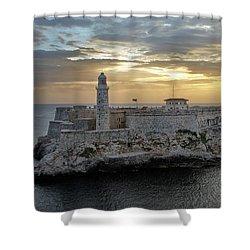 Havana Castillo 2 Shower Curtain