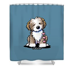 Havanese Heartstrings Shower Curtain