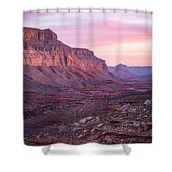 Havasupai Desert Sunrise Shower Curtain