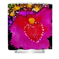 Shower Curtain featuring the painting Have A Heart by Angela Treat Lyon