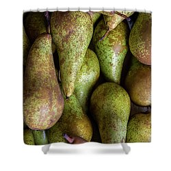 Shower Curtain featuring the photograph Have A Pear by Sandy Molinaro