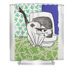 Have You Even Seen The Litter Shower Curtain by Leela Payne