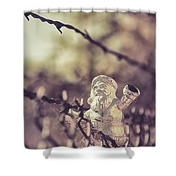 Have Yourself A Merry Christmas Shower Curtain by Caitlyn Grasso