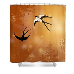 Haven Song Shower Curtain
