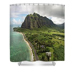 Hawaii Beauty Shower Curtain by James Roemmling