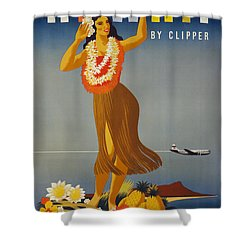 Hawaii By Clipper Shower Curtain