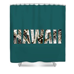 Shower Curtain featuring the photograph Hawaii Coconut Palm Type by Kerri Ligatich