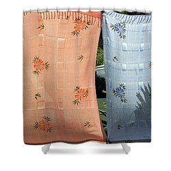Hawaii Drying  Shower Curtain