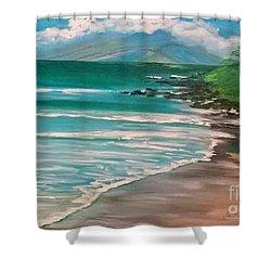 Hawaii Honeymoon Shower Curtain