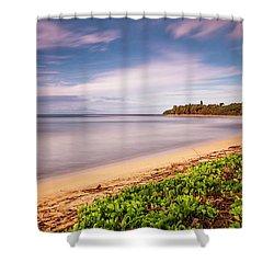 Hawaii Pakala Beach Kauai Shower Curtain