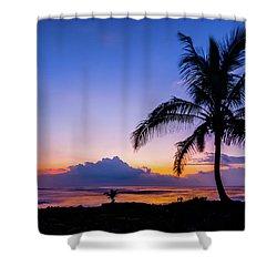 Hawaiian Dawn Colors Shower Curtain