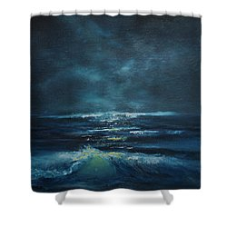 Hawaiian Enchanted Sea #431 Shower Curtain by Donald k Hall