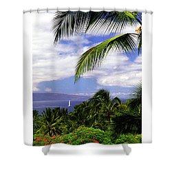 Hawaiian Fantasy Shower Curtain by Marie Hicks
