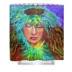 Hawaiian Hula 111 Shower Curtain