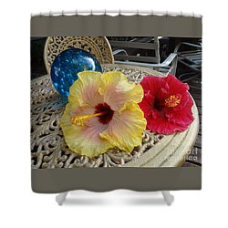 Hawaiian Lovelies Shower Curtain