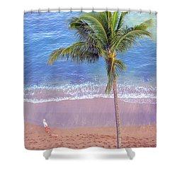 Hawaiian Morning Shower Curtain