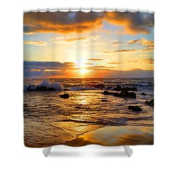 Hawaiian Paradise Shower Curtain