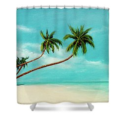 Hawaiian Prime Real Estate  #284 Shower Curtain by Donald k Hall