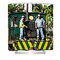 Hawaiian Railway Shower Curtain