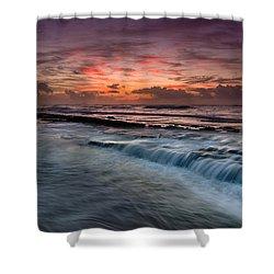 Hawaiian Sunrise Shower Curtain