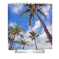 Hawaiian Vacation #4 Shower Curtain