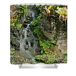 Hawaiian Waterfall Shower Curtain