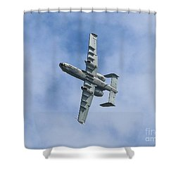 Hawg Rolling Out Shower Curtain