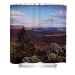 Hawk Mountain Sanctuary Shower Curtain