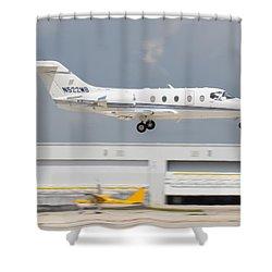 Hawker Beechcraft Shower Curtain