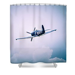 Hawker Sea Fury Fb11 Shower Curtain