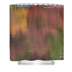 Hawkins Autumn Abstract II 2015 Shower Curtain