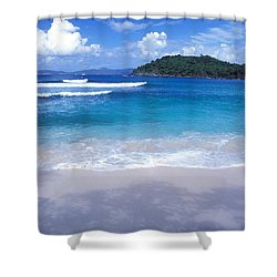 Hawksnest Bay 6 Shower Curtain