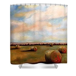 Hay Field Shower Curtain