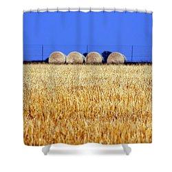 Hay Hay Shower Curtain