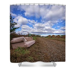 Hay Sofa Sky Shower Curtain