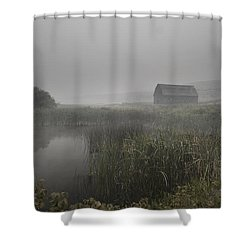 Haynes Ranch Predawn Shower Curtain by John Poon