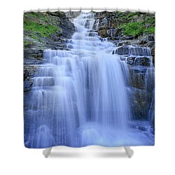 Haystack Creek Shower Curtain by Jack Bell
