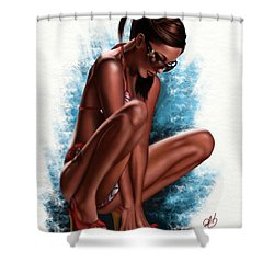 Haze Shower Curtain