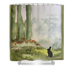 Hazel-rah Shower Curtain