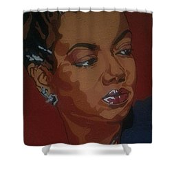 Hazel Scott Shower Curtain